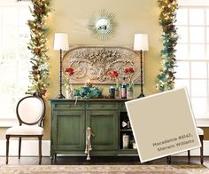 Wall Color: Macadamia 6142 by Sherwin Williams October-December 2012 Paint Colors | How To Decorate