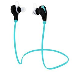Ecandy Wireless Bluetooth Headphones Noise Cancelling Headphones w/Microphone,Sports,Running,Gym,Exercise,Sweatproof ,Wireless Bluetooth Earbuds Headset Earphones for iPhone 6, 6 Plus, 5 5c 5s 4,Android Phone and other Enabled Bluetooth Devices,Blue eCandy http://www.amazon.com/dp/B00UV6CD62/ref=cm_sw_r_pi_dp_XjLEvb1KQG75M