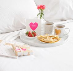 Set up a delicious breakfast in bed with these gorgeous #Mugs and a unique Valentine's Day Card from kikki.K (07) 5657 0679 www.marinamirage.com.au