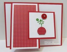 Love the opening on this card (by Barb Mullikin)