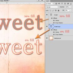 Layer Opacity vs Fill in Photoshop