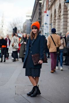 LFW Street Style#Repin By:Pinterest++ for iPad#