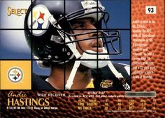 1996 Select - Artist's Proofs #93 Andre Hastings Back