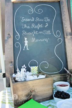 darling Peter Pan party ideas!