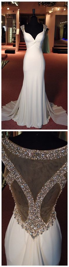 High Quality Prom Dress,Real Made Prom Gowns,Beading Prom