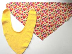 Made by Toya - Baby Bandana Bib Tutorial with PDF pattern - FREE