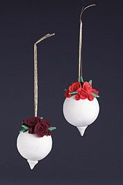 Rose-Topped Ornament