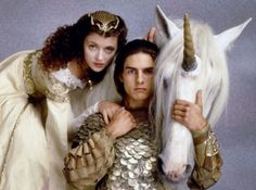 Legend.  Don't act you dont know this movie either. Tom Cruise. Unicorn. Ya know, Tom Cruise WITH a unicorn.