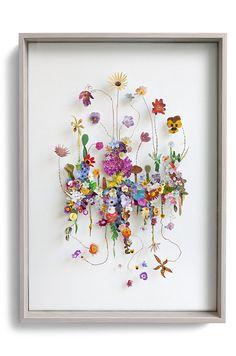 Construção Flor # 69 (w: 50 h: 70 d: 6,5 cm)