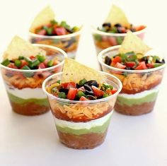 Cinco de Mayo 2012 Party Food: Serve some Mexican bites like seven layer dip and tortilla chips. healthy-eating-food-for-thought Think Food, Food For Thought, Love Food, Fun Food, Great Recipes, Favorite Recipes, Delicious Recipes, Amazing Recipes, Amazing Snacks