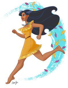 Pocahontas+by+aimeezhou.deviantart.com+on+@DeviantArt