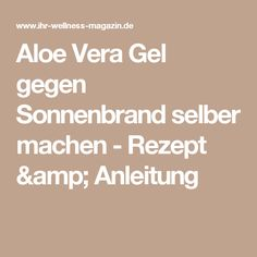 aloe vera bodylotion selber machen rezept anleitung beauty pinterest lotion. Black Bedroom Furniture Sets. Home Design Ideas