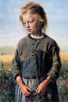 A Fisher Girl, 1874  Ilya Repin