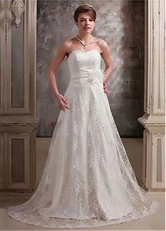 Alluring Lace Maternity Wedding Dress