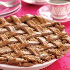 Maltese Torta tal-Marmurat (Almond, Chocolate, and Ricotta Pie) - I'd like to try this with an almond crust.