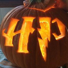 Harry Potter icon Jack-o-lantern