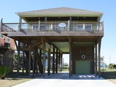 House vacation rental in Crystal Beach, Bolivar Peninsula, TX, USA from VRBO.com! #vacation #rental #travel #vrbo