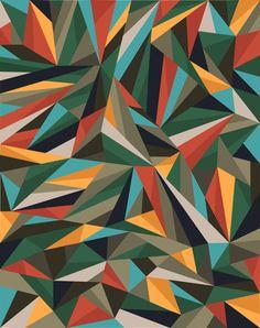 Sliced Fragments II by Marcelo Romero