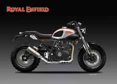 The Royal Enfield Himalayan has been rendered as a Scrambler. Called as Cobra the motorcycle bears a new exhaust system fuel tank and handle bar. Enfield Bike, Enfield Motorcycle, Scrambler Motorcycle, Bobber Custom, Custom Bikes, Himalayan Royal Enfield, Ducati Pantah, Yamaha Fz 09, Suzuki Sv 650