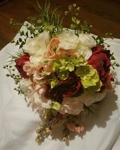 Check out this item in my Etsy shop https://www.etsy.com/listing/462703056/absolutely-stunning-bridal-bouquet-with