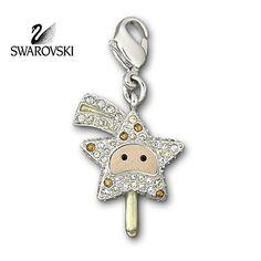 Swarovski Crystal Shooting Star Comet Magic Wand Small Charm  #1024718