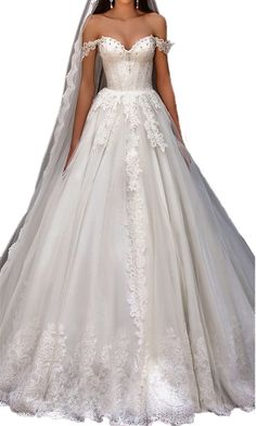 5604c0ffd61 DreHouse Women s Cap Sleeve Beaded Lace Vintage Wedding Dresses 2017 Plus  Size With Long Veil.