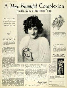 vintage beauty cream ads - Google Search