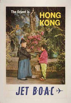 The Orient Is Hong Kong Decorative Arts Prints & par OMGsoRETRO