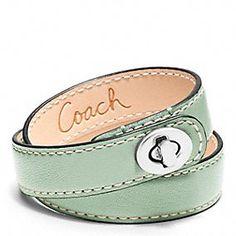 Shop Bracelets: Leather Bracelets, Charm Bracelets and Bangles at Coach