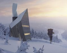 huba: energy efficient mountain shelter