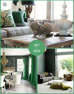 Emerald green bedroom accents grey and green home decor emerald emerald green decorating ideas home decor Living Room Green, Bedroom Green, Green Rooms, Living Room Decor, Master Bedroom, Green Home Decor, Bright Homes, Living Room Inspiration, House Colors