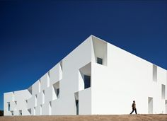 House for elderly people // Aires Mateus Arquitectos // Alcácer do Sal, Portugal #modern ☮k☮ #architecture