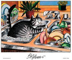 Kliban's Cats Comic Strip, October 25, 2012 on GoComics.com