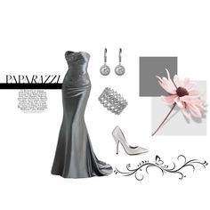 I think this may be this years winner! Silver Gown - Military Ball, created by tammieferg.polyvo...