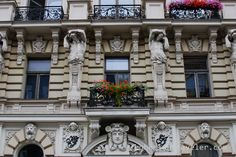 5 photo of 28 for riga architecture art nouveau