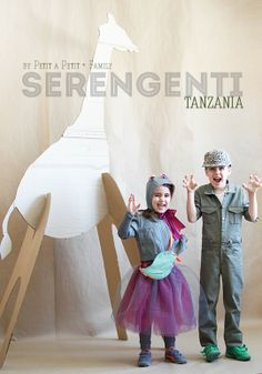 Project Run and Play: Time to Vote! Serengeti, Tanzania by petit a petit + family