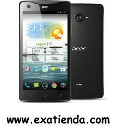 """Ya disponible Smartphone Acer s1 5.7"""" quad core 1gb 8gb android 4.2 negro (por sólo 320.95 € IVA incluído):   - Especificaciones  - Tamaño Dimensiones 163 x 83 x 9.6 mm Peso 195 g (con la batería) - Batería Tiempo de conversación hasta 11 horas Tiempo en espera hasta 450 horas Capacidad Batería de polímero de litio reemplazable,2400 mAh - Radio HSPA 900/2100 MHz GSM/EDGE 850, 900, 1800, 1900 MHz - Procesador: CPU Quad Core 1,5 GHz ROM/RAM 8 GB / 1GB  - Imagen Cámar"""
