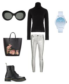 Untitled #6 by krisz-kiss on Polyvore featuring polyvore, fashion, style, Simon Miller, RtA, Dr. Martens, MANGO, Lacoste, Elizabeth and James and clothing