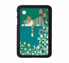 Protective Samsung Galaxy 2 (7.0) Case Kitty 5. $21.00, via Etsy.
