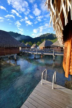 "Tahiti: ""ahhh"" ~ Where I tell my kids I am when they call and ask! #ExpediaThePlanetD"