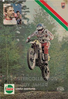 Yamaha Motocross, Motorcycle Types, Vintage Motocross, Finland, Motorbikes, Motorcycles, Guy, Hero, Passion