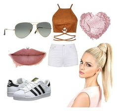 """""""Summer Swag #2"""" by lildcon on Polyvore featuring Ally Fashion, adidas Originals and Ray-Ban"""