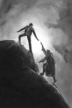 Deathly Hallows: Part II Headmaster Snape & Harry Potter series official concept art Snape Harry Potter, Draco And Hermione, Harry Potter Food, Harry Potter Drawings, Harry Potter Facts, Harry Potter Fan Art, Harry Potter Characters, Concept Art, Hp Movies