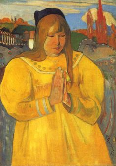 Paul Gauguin – The Young Christian
