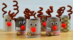 Christmas paper decorations: you should remember these ideas! - Fresh ideas for the interior, decoration and landscapeToilet paper rolls as a material for Christmas wreath tinker with DIY Toilet Paper Roll Crafts For Adults Christmas Crafts For Kids To Make, Christmas Activities, Xmas Crafts, Christmas Projects, Simple Christmas, Kids Christmas, Reindeer Christmas, Preschool Christmas, Toilet Paper Roll Crafts