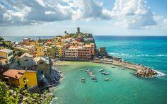 意大利五渔村  #世界风光#