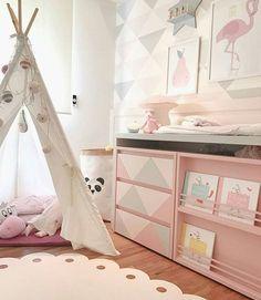 De quarto de bebê a quarto de menina | WEBSTA - Instagram Analytics
