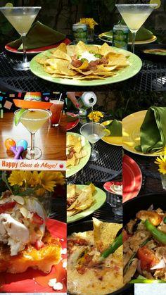 Cinco de Mayo at home patio. 2014
