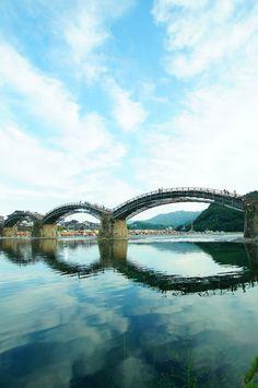 Kintai-kyo bridge. Yamaguchi, Japan.