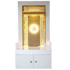 Latest Wooden Mandir 5 Feet Height with Storage Cabinet Pooja Room Design, Door Design, Room Design, Pooja Rooms, Contemporary Interior Design, Room Door Design, Pooja Room Door Design, Tv Cabinet Design, Living Room Designs